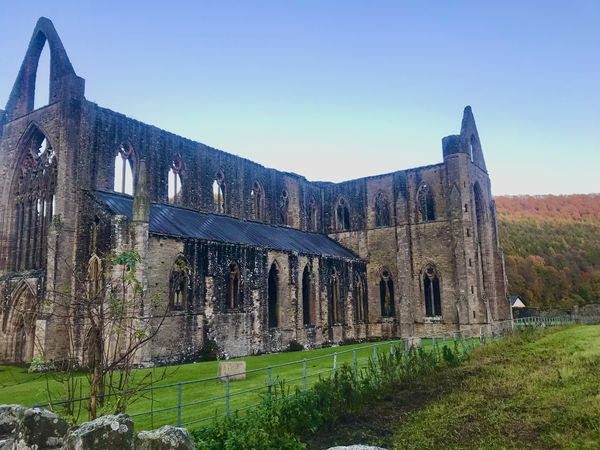 Evening cycle to Tintern